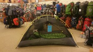 sale on select mountain hardwear tents, packs, sleeping bags