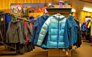 Sportswear and clothing sale at Beaver Sports
