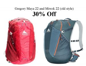 gregory miwok and maya on sale at beaver sports