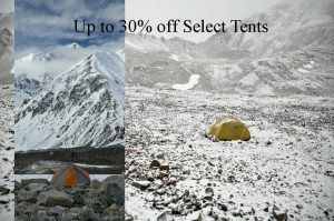 sale on tents at beaver sports