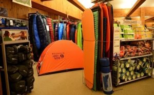 Sleeping pads, sleeping bags, and tents at Beaver Sports